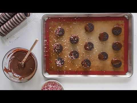 Easy Chocolate Covered Oreo Cookies Recipe