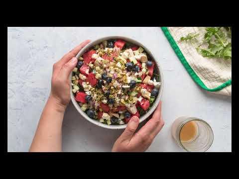 Watermelon Chicken Salad