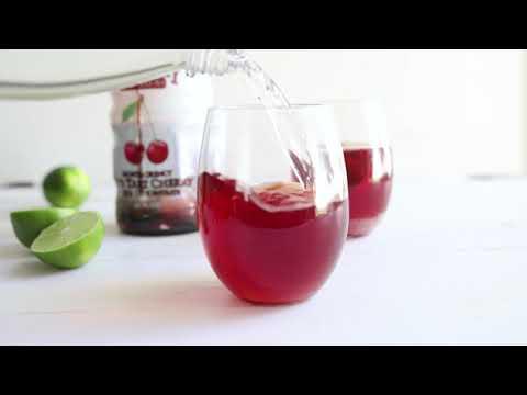 tart cherry spritzer