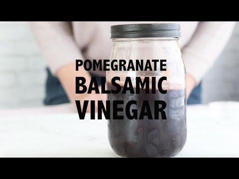 Pomegranate Balsamic Marinade