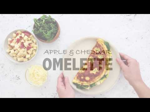 Cheddar & Apple Omelette