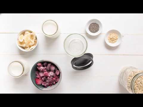 Easy Overnight Oats with Greek Yogurt