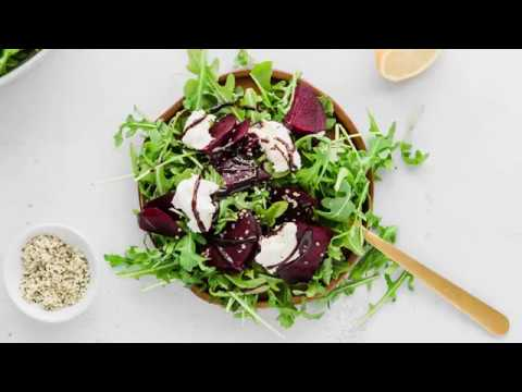 beet salad video