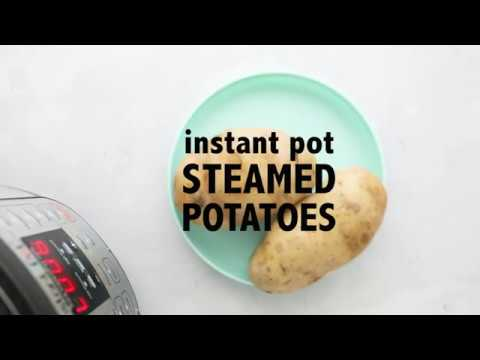 Instant Pot Steamed Potatoes