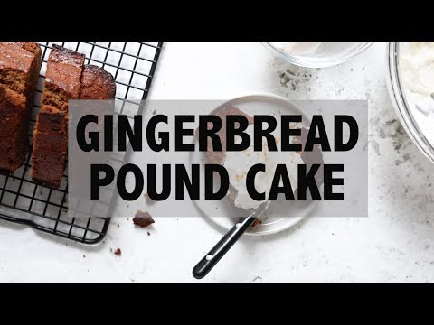 Gingerbread Pound Cake