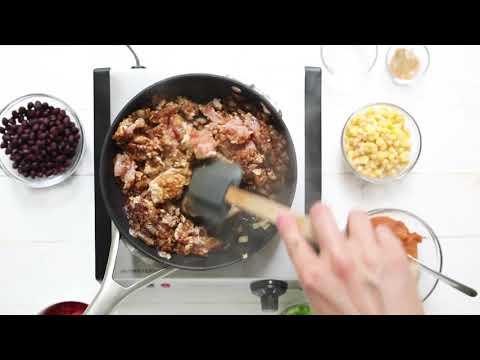 30 minute pumpkin chili with ground turkey