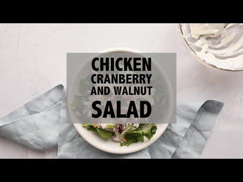 Chicken Cranberry Walnut Salad