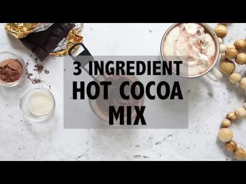 3 Ingredient Hot Cocoa Mix