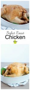 How to Make the Perfect Roast Chicken | 5 minutes hands-on time | www.nourishnutritionblog.com