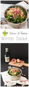 Warm Winter Salad in bowl