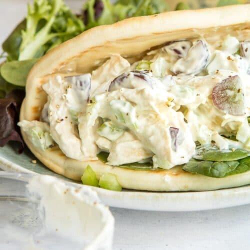 Chicken Salad Sandwich 2 | www.nourishnutritionblog.com