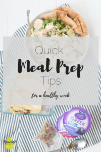 dannon light & fit, sandwich, and salad with text overlay