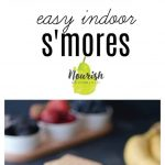 stacked s'mores with text overlay