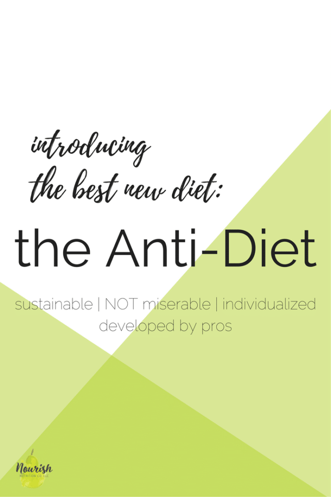 The Best New Diet text