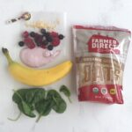 Mixed Berry Smoothie Ingredients