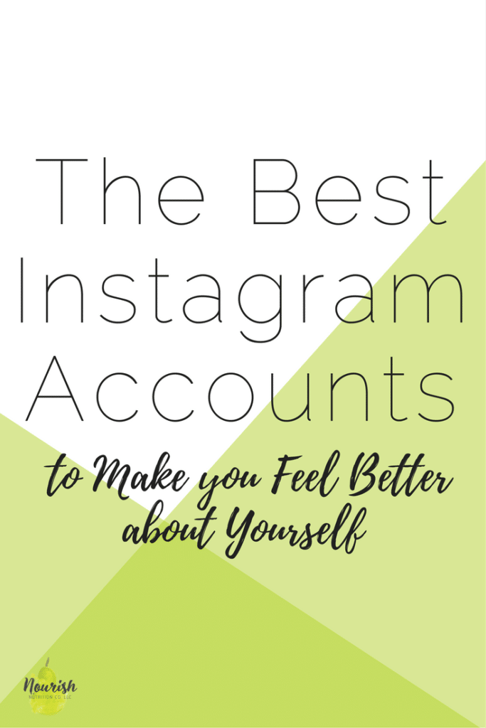 The Best Instagram Accounts to Make You Feel Better About Yourself text overlay