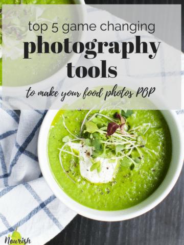 asparagus soup with text overlay