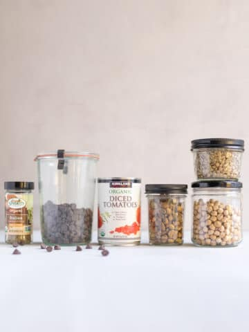 pantry staples for one