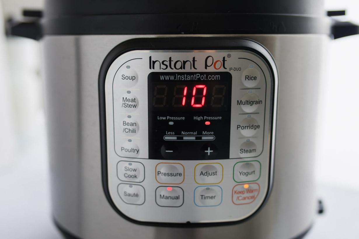 instant pot settings for Asian BBQ Chicken Wings Recipe